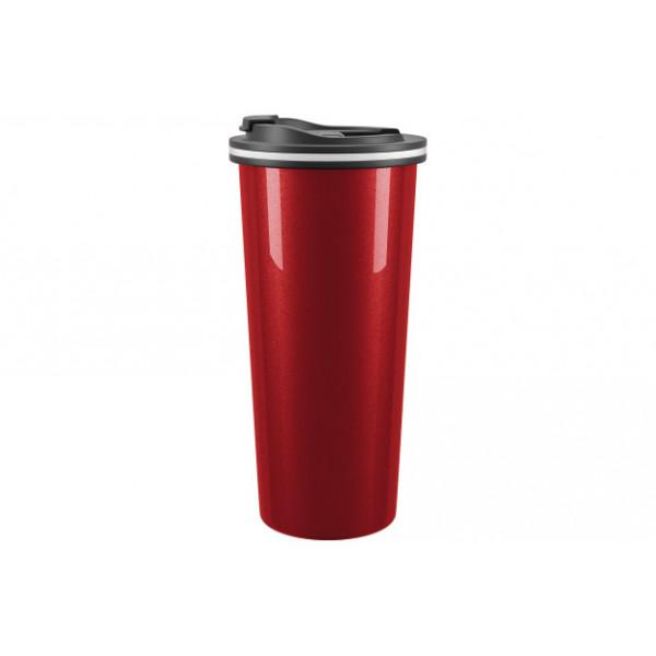 Термокружка 450 мл, TRAVEL / 99070-2, RED