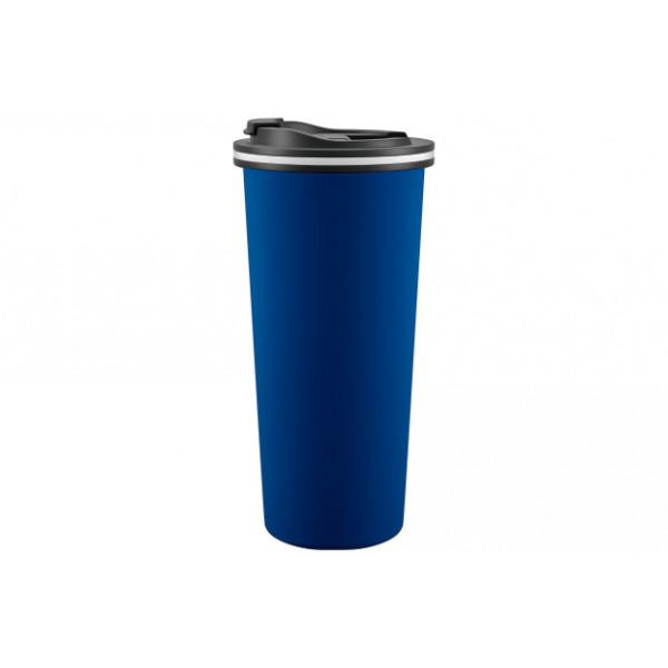 Термокружка 450 мл, TRAVEL / 99074-1, MATT BLUE