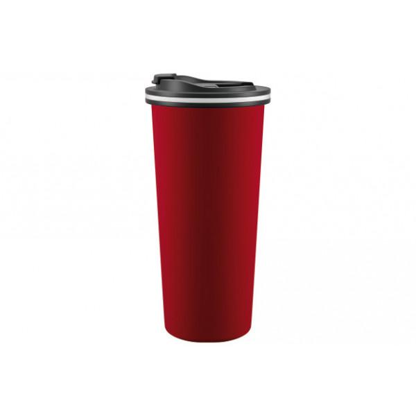 Термокружка 450 мл, TRAVEL / 99074-2, MATT RED