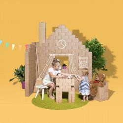 Картонные блоки для детского творчества