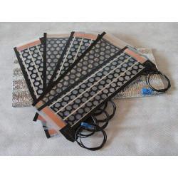 Инфракрасный плёночный обогреватель 12V, 5.5W, 30х9см