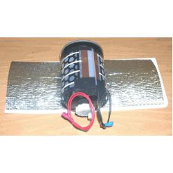 Инфракрасный плёночный обогреватель 12V, 15W, 30х25см